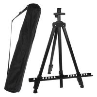 Portable Adjustable Metal Easels Artist Sketching Painting Stand Drawing Display Easel Stand With Bag Sketchpad Stents Scaling