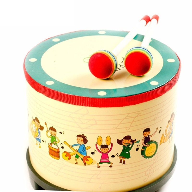 Montessori jouets musicaux Style coréen bébé tambour jouets pour enfants enfants jeu de musique Oyuncak Brinquedos Juguetes Brinquedo