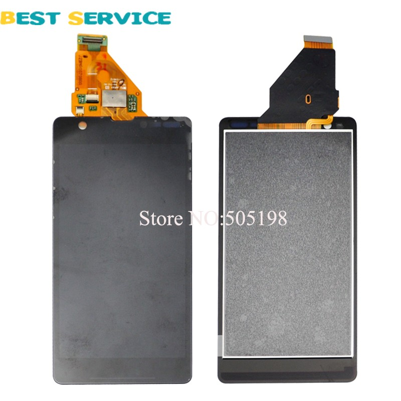 For Sony Xperia ZR M36h M36 C5503 C5502 LCD Display with Touch Screen Digitizer Assembly Tools