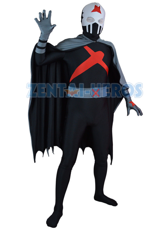X Teen Titans Custom Red Superhero Costume Halloween Party Cosplay Zentai Suit