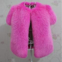 Genuine fox fur coat 2017new 100 fox newest luxury custom vest female fox fur vest winter.jpg 250x250