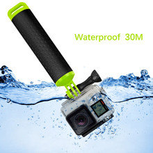 For Original Gopro Bobber Float Bar Hand Grip for Gopro Session 4 5 3 Xiaomi Yi 4K SJCAM SJ4000 C30 Camera Surfing Swimming стабилизатор изображения gopro karma grip agimb 004