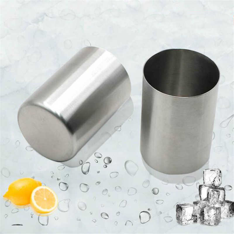 New Stainless Steel Straight Bathroom Mug Cup Brushing Cup Household Drinking Cup Beer Mug Drink Cup