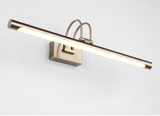 Retro With Plug Led Mirror Light Bathroom Bedside Wall Lamp