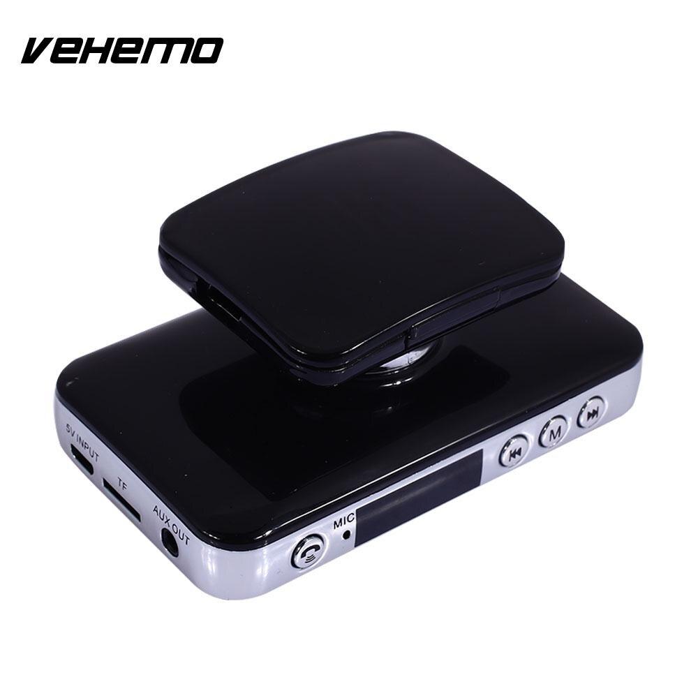 Vehemo LCD Digital Display TF Card Bluetooth Receiver Car MP3 Player Kit Bluetooth Car Hands-Free Car Kit FM Transmitter Music