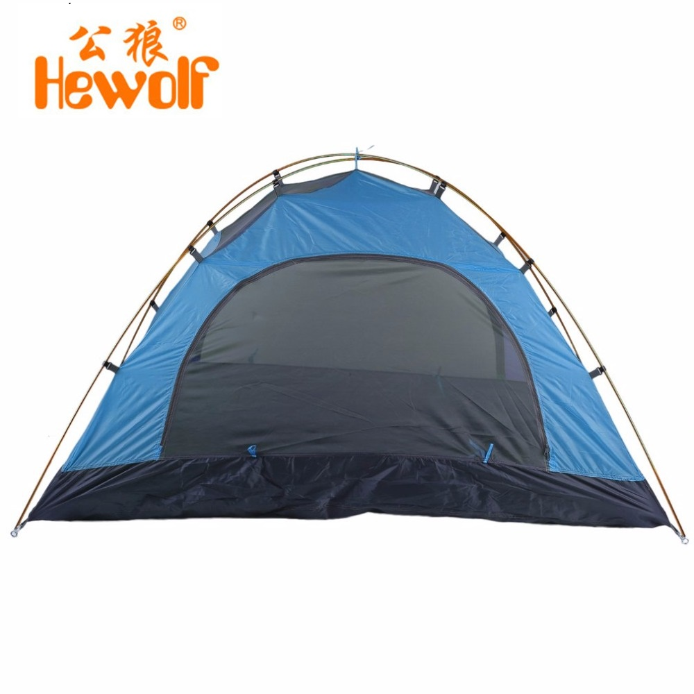 Super Lightweight Waterproof  Tents Double Layers 2 Person Outdoor Camping Hiking 190T Polyester Portable Beach Tent high quality outdoor 2 person camping tent double layer aluminum rod ultralight tent with snow skirt oneroad windsnow 2 plus
