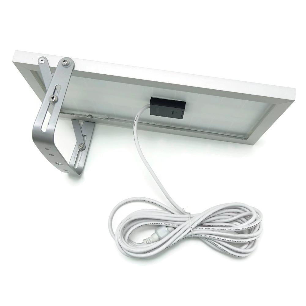 Альфа 1200x3 Мощность режима 180 светодиодный 300-1400lm 5 м кабель Авто Солнечный Мощность ED светодиодный уличный фонарь Открытый waterprooof столб света