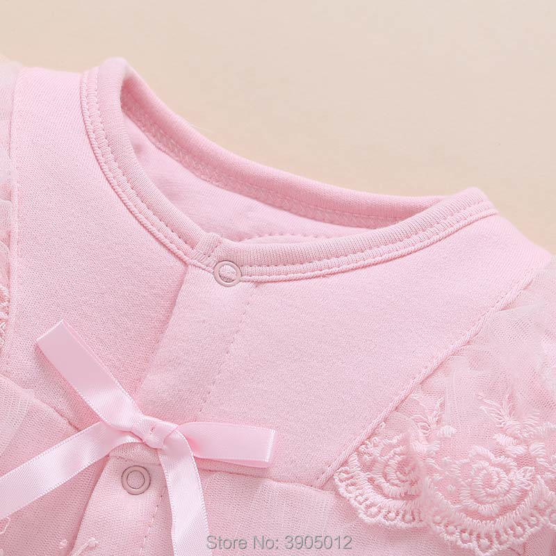 2018 Baby Girl Roupa Infantil Female Suit 0 1 Year Old Princess Spring 3 Newborn Clothes 4 Open File 6-12 Months Split Cotton