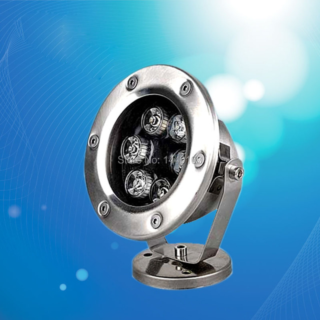 5pcs/lot 6w 9w 12w 15w LED Underwater Light For Swimming Pool Or Fountain, Single Color, Stainless Steel IP 68 10pcs/lot