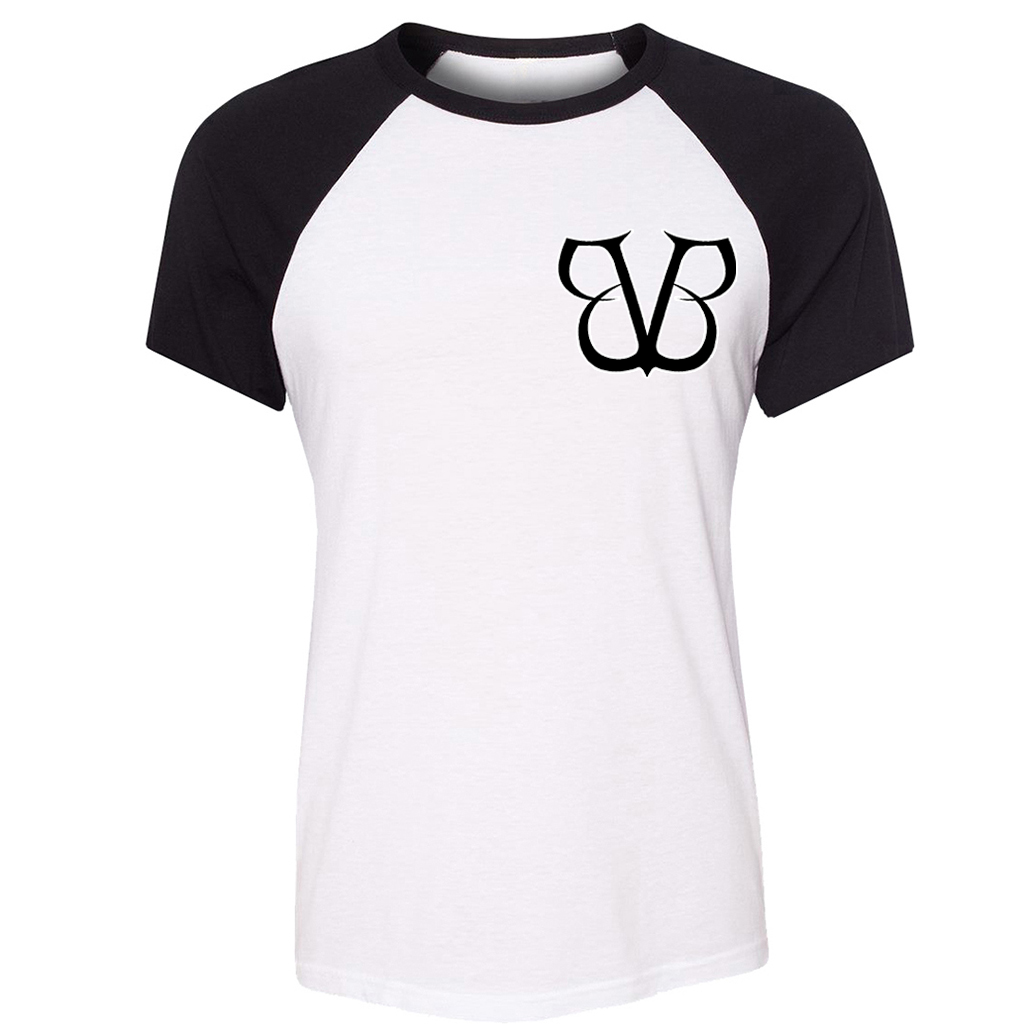 Black Veil Brides BVB Short Sleeve T Shirt Women Loose Anime Girls T-shirt Cute Cartoon ADVENTURE TIME Jake Dog Patchwork Tees