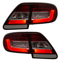 Для Toyota Corolla светодиодный задний фонарь 2011 2013 Красный