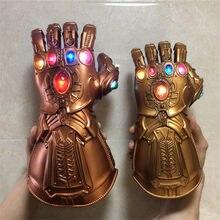1:1 rękawice wojenne LED Light Cosplay rękawiczki Prop figurka Halloween American superbohaterowie Weapen