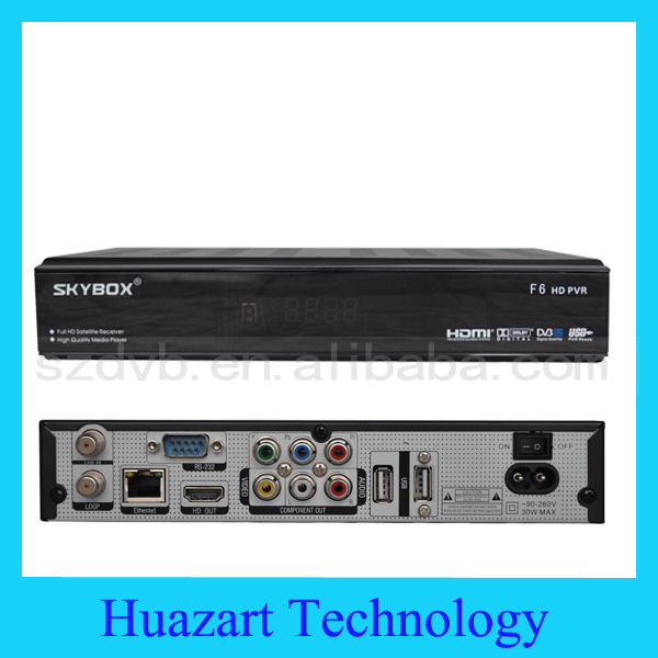2014 SKYBOX F6 HD 2013 Newest Full HD 1080p PVR Latest Original Digital Satellite Receiver Support USB wifi Youtube Youpron IPTV