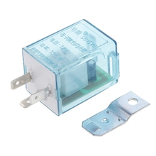 DC 12V 3 Pin Electronic Flasher Relay Fix LED Light Light Indicatior Flash
