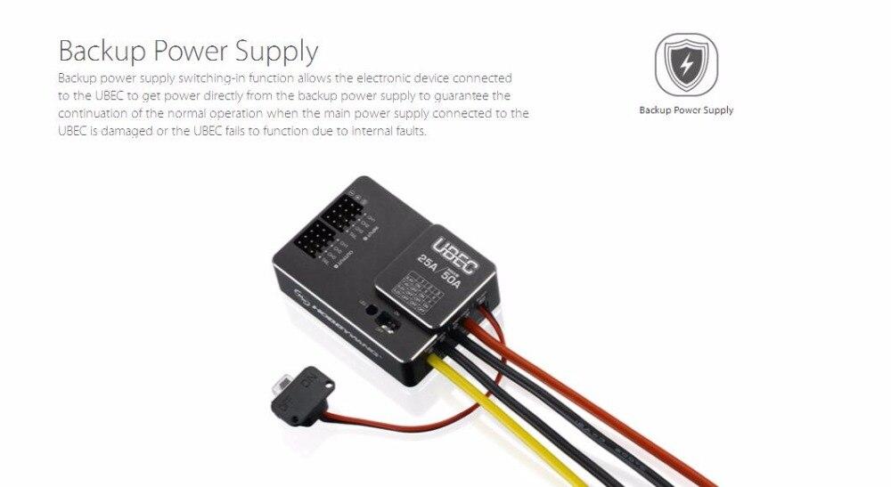 25a interruptor externo para diy fpv mini corrida quadcopter zangão