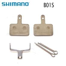 Shimano B01S Resin MTB Disc Brake Pads for BR-M485 M445 M446 M447 M395 M355 M575 M475 M416 M396 M525 M465 Bicycle bike parts недорого