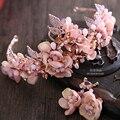 Новый Цзин Ван сердце Европейского Барокко невесте головного убора хрустальная корона корона свадебные ювелирные украшения