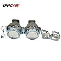 2PCS Bi Xenon Projector Lens LHD For Car Headlight 3 0 Koito Q5 35W Can Use