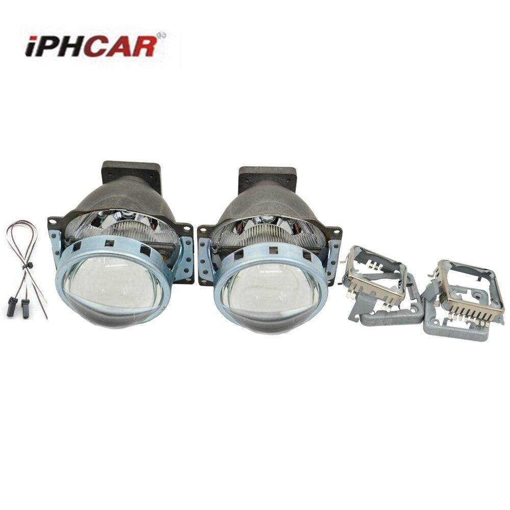 2PCS Bi Xenon Projector Lens LHD for Car Headlight 3.0 Koito Q5 35W Can Use with D1S D2S D2H D3S D4S Super Bright xenon kit