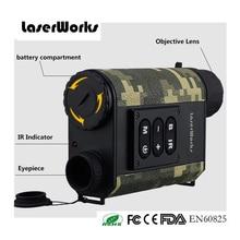6X32 monokulare Nachtsicht laser-entfernungsmesser Infrarot Scope Jagd Tarnung Laser-entfernungsmesser