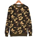 Thick Winter Hoodie Men/women Camouflage Series Fashion Depth/shallow Camouflage Color Blank Clothes XXS To 4XL