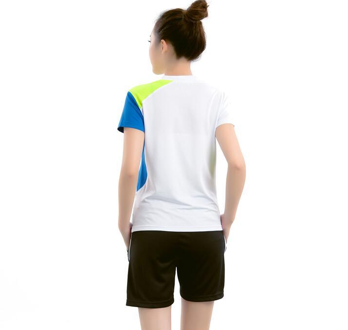 Новая мужская одежда для бадминтона, рубашка для игры, летняя женская спортивная футболка с коротким рукавом для настольного тенниса, быстросохнущая футболка для Бадминтон Спорт