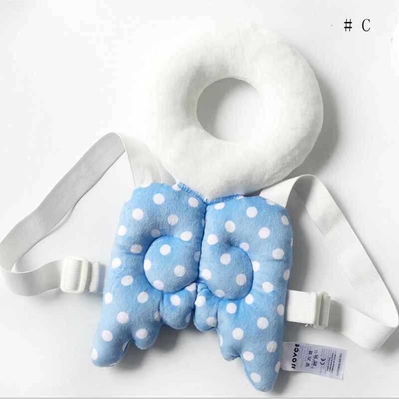 Новая Брендовая детская одежда для малышей, лидер продаж, защитная накладка на голову, упряжь, головной убор, подголовник, 6 цветов