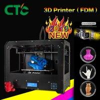 2019 Модернизированный полностью качественный высокоточный Двойной Экструдер 3d принтер-PLA ABS