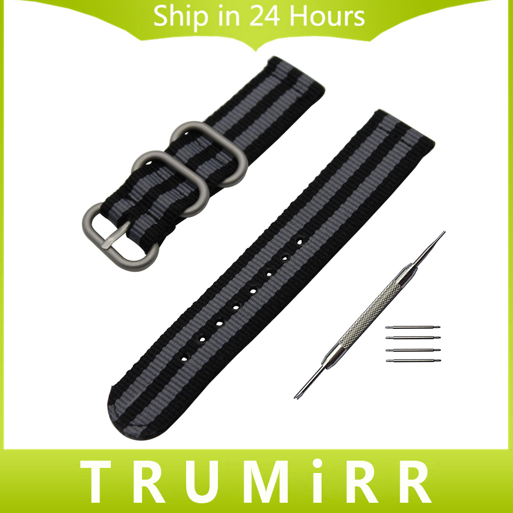 20mm 22mm Nylon Watchband Zulu Strap for Amazfit Huami Xiaomi Bip BIT PACE Lite Watch Band Canvas Sports Belt Wrist Bracelet jansin 22mm watchband for garmin fenix 5 easy fit silicone replacement band sports silicone wristband for forerunner 935 gps