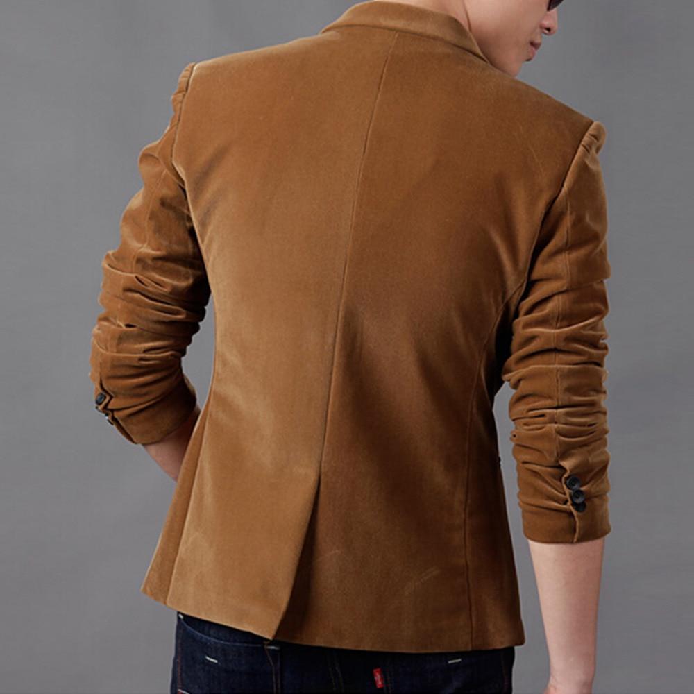 Luxury Men Blazer New 2020 Autumn Fashion Brand High Quality Classic Busines Coat Slim Fit Men Suit Terno Masculino Blazers Men 2