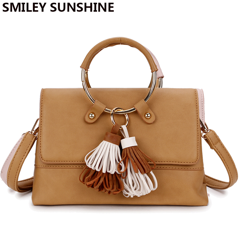 SMILEY SUNSHINE jenama bingkai wanita messenger bags musim panas - Beg tangan - Foto 4