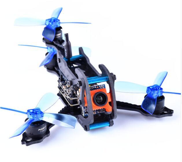 Support impressionnant de Fiber de carbone d'empattement de Y4 110 pour le Drone de concours de FPV de RC