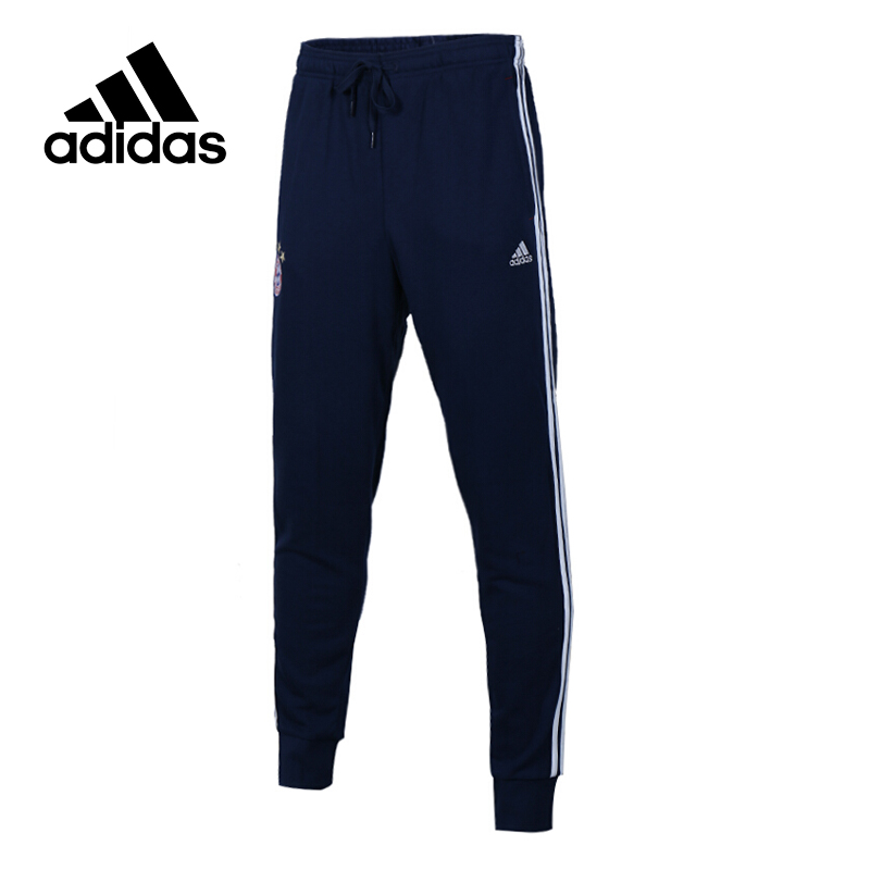 Original New Arrival Official Adidas Men's Full Length Football Leisure Pants Sportswear original new arrival official adidas neo women s knitted pants breathable elatstic waist sportswear