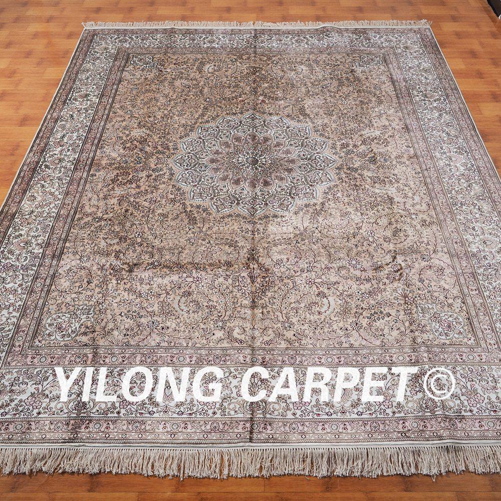 Yilong 8 X10 Persian Handmade Silk Rug Flooring Decoration Home Comfotable Carpet Ml038a8x10 In From Garden On Aliexpress Alibaba