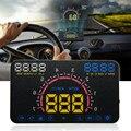 5.8 Pulgadas de Pantalla E350 HUD Head Up Display Car Advertencia de Exceso De Velocidad Velocímetro Parabrisas Sistema de Proyector para Vehículos con OBDII