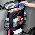 1 Pcs Novo Carro Multifuncional Bolsa De Armazenamento Cadeira Carro de Volta Bloco de Gelo Pacote de Isolamento Frio Preto Frete Grátis
