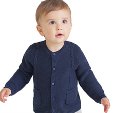 Childrens Cardigan with Buttons Kids Knitwear for Girls and Boys Spring &Autumn Wear Children Clothing Pure Color Modern Style