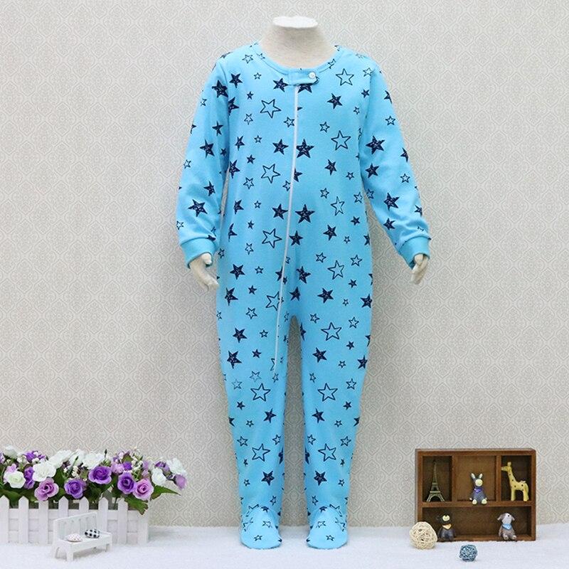 Комбинезоны из 100% хлопка с длинными рукавами для мальчиков и девочек, детская одежда на Рождество для детей от 2 до 7 лет