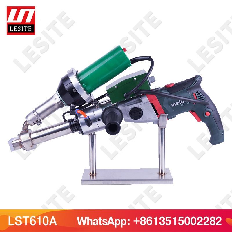 FREE SHIPPING LESITE Plastic hand extruder welding gun plastic extrusion welder HDPE pipe welding machine LST610A/B/C