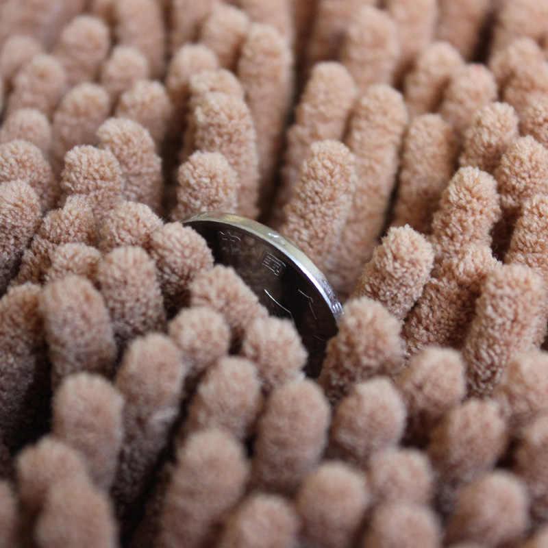 40*60CM Bagno Zerbino Per Il Bagno Tappetini Wc Tappeto Anti Slittamento Assorbimento di Acqua Zona Comoda Tappetini Ciniglia