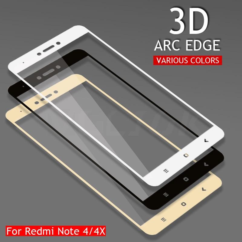 Tempered-Glass Note-4 Xiaomi Redmi Protective-Film Version-Screen Full-Cover for Note-4/4x/Redmi/..