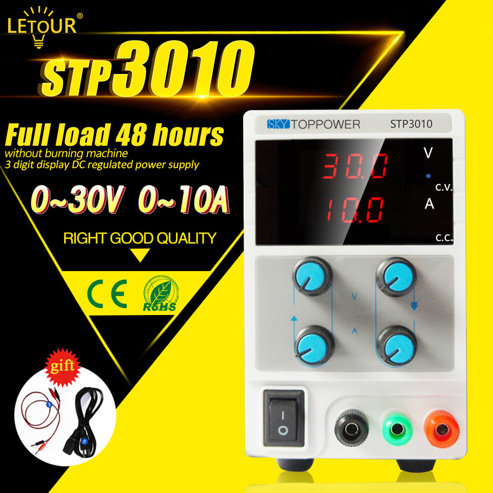 Laboratory Power Supply 30v 10a Voltage Regulator Adjustable Dc By Lm338 Electronic Projects Circuits 300w Foot With Alligator Cableac Cord