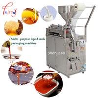 220 V/110 V автоматическая машина для упаковки жидкой продукции соус заправка машина запечатывания меда жидкое Вино Масло Чили машина розлива