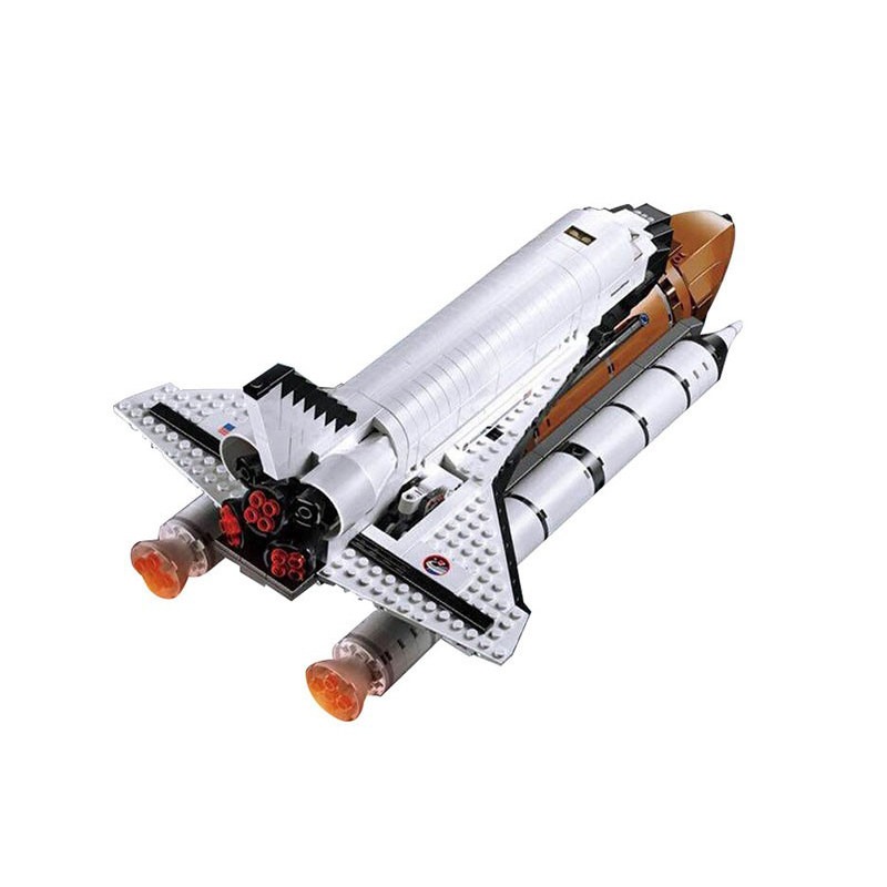 Compatible Legoe 10231 Model 16014 1230pcs Space Shuttle Expedition Model building blocks Figure bricks toys for children decool 3117 city creator 3 in 1 vacation getaways model building blocks enlighten diy figure toys for children compatible legoe
