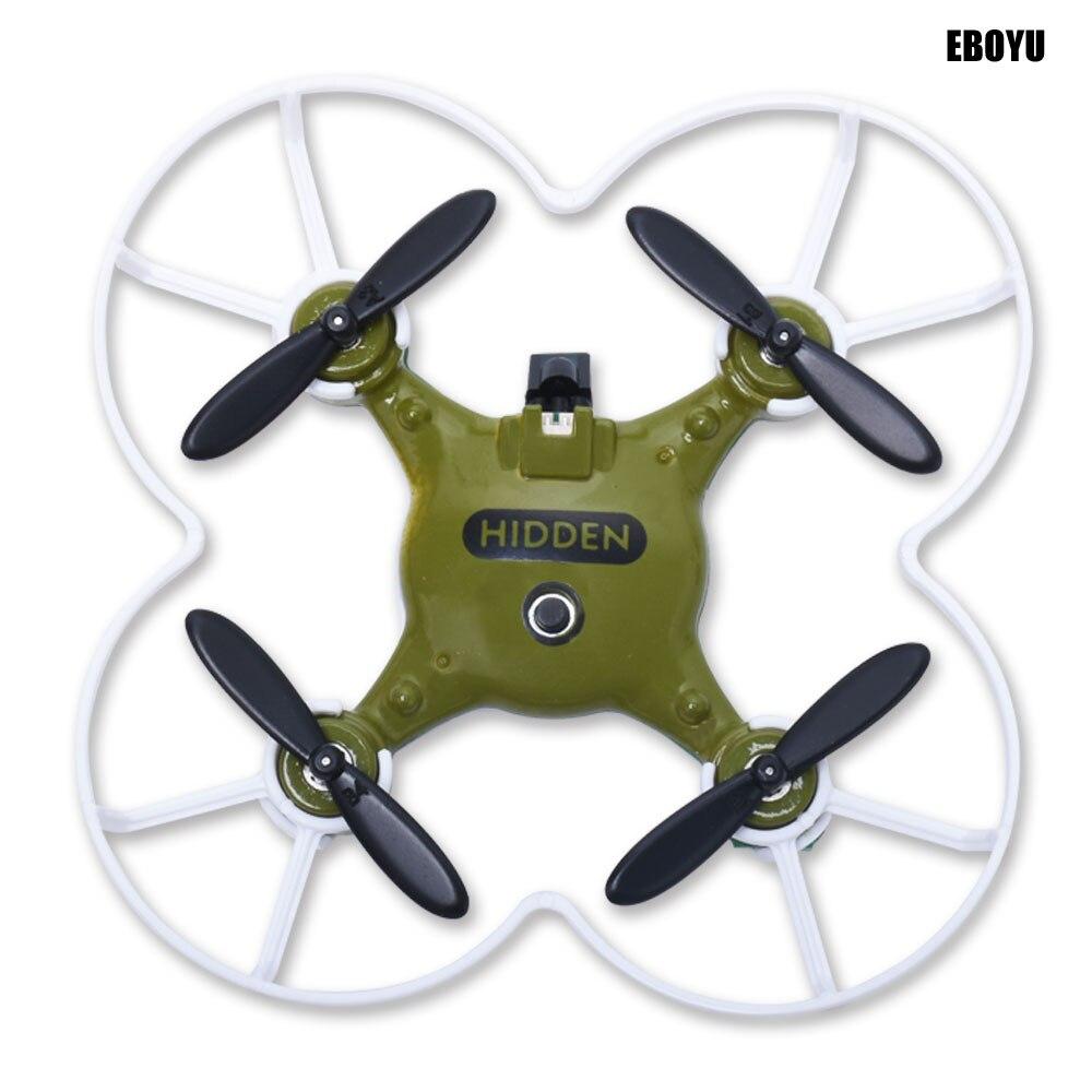 Drone Mini tête quadrirotor