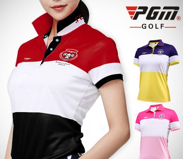 Top quality POLO Shirt Breathable Short Sleeve T-Shirt Quick-Dry Lady Golf Shirt ...