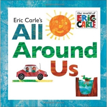 All Around Us By Eric Carle  Nglish Story Books for Kids Children Learing English Toys Drawing Book In English недорого