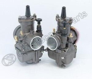 Image 3 - PWK PWK34 Carburetor 34 34MM Dual Set For Yamaha XS650 Keihin Carb