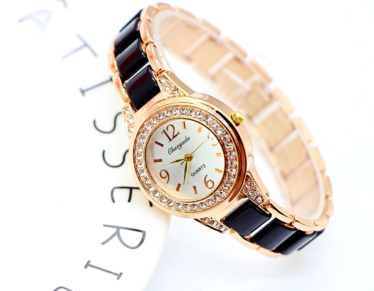 CHAOYADA Vintage New Gold Bracelet Watch For Woman Elegant Luxury Brand Ladies Quartz Watches Reloj Mujer 2016 Montre Femme zilnk high speed dome camera hd 960p 5x zoom ptz ip camera security cctv outdoor night vision support onvif p2p ipc