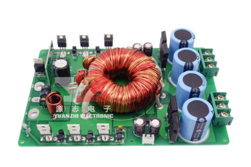цена на Sep_store New Type B1:1200W DC12V to DC+/- 52V Switching boost Power Supply board DIY